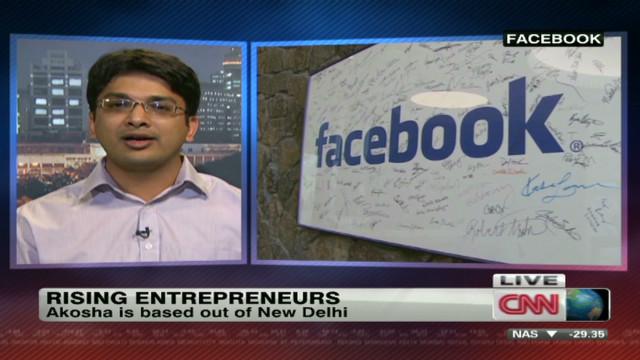Facebook attracts rising entrepreneurs