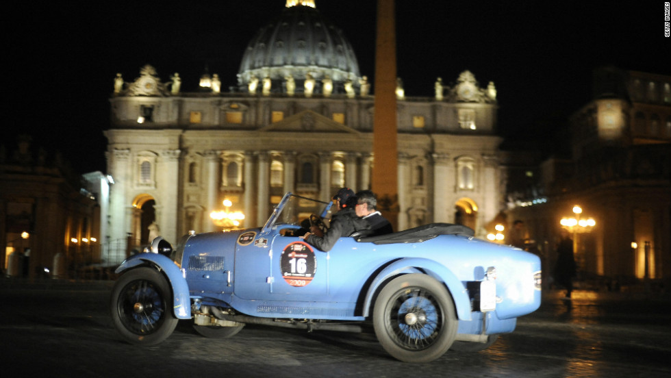 "The Mille Miglia, or ""Thousand Miles,"" is a grand tour from Brescia in northern Italy, down to the capital city of Rome, and back again. Today, it is a leisurely classic car event. But it has a far racier history..."