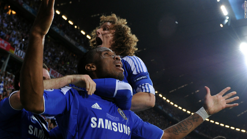Didier Droga proved Chelsea's hero with a goal in normal time and the penalty shootout winner.