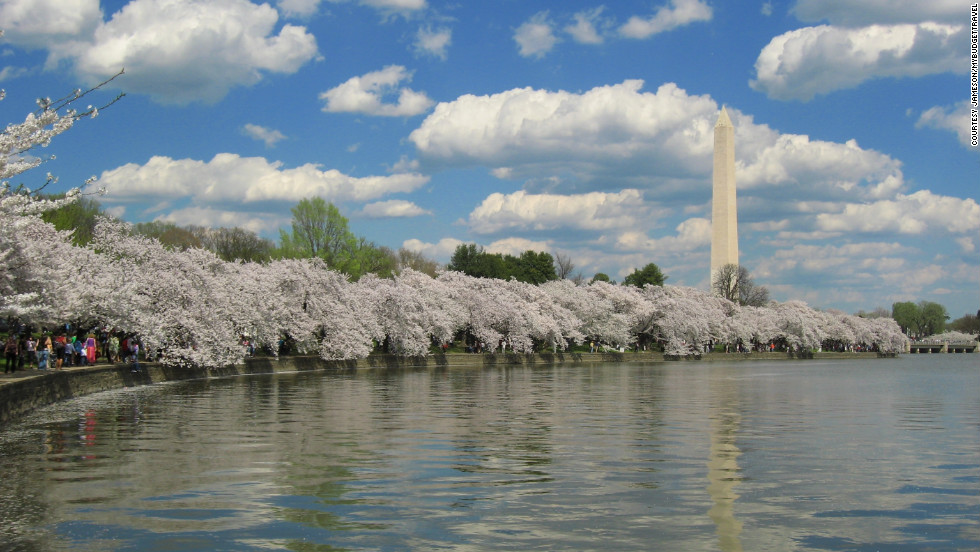 "As you might guess, D.C. is the most patriotic place to celebrate the holiday with a parade and plenty of pomp and circumstance taking place during special military ceremonies. <a href=""http://www.budgettravel.com/slideshow/photos-12-memorial-day-getaways,7260/?cnn=yes"" target=""_blank"">See more photos at BudgetTravel.com</a>."