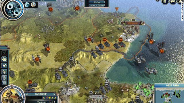 """Empires of the Smokey Skies"" is part of the new expansion to ""Civilization V"""