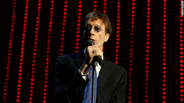 Robin Gibb performs during the German Opera Ball 2009 on February 28, 2009 in Frankfurt, Germany.