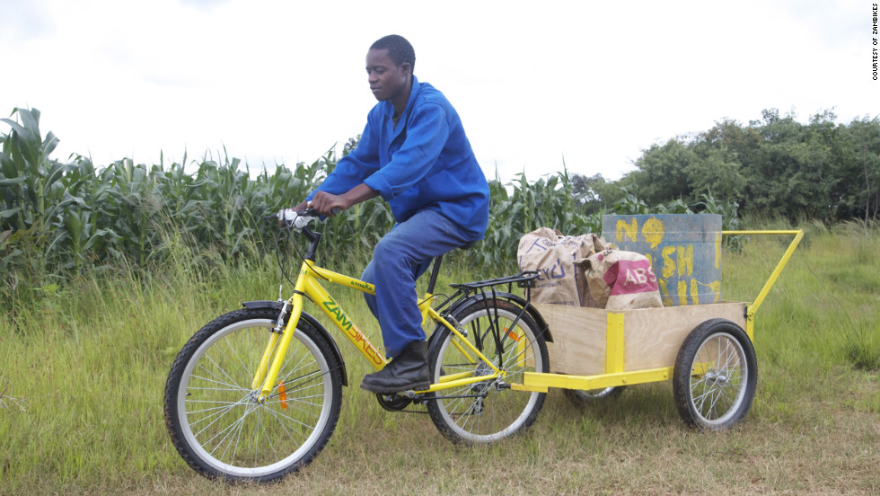 The company is also serving the local market with steel bikes as well as spare parts, bicycle ambulances and cargo carts.