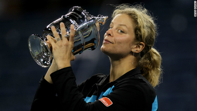 Belgian Kim Clijsters has won three of her four career grand slam titles at the U.S. Open in New York