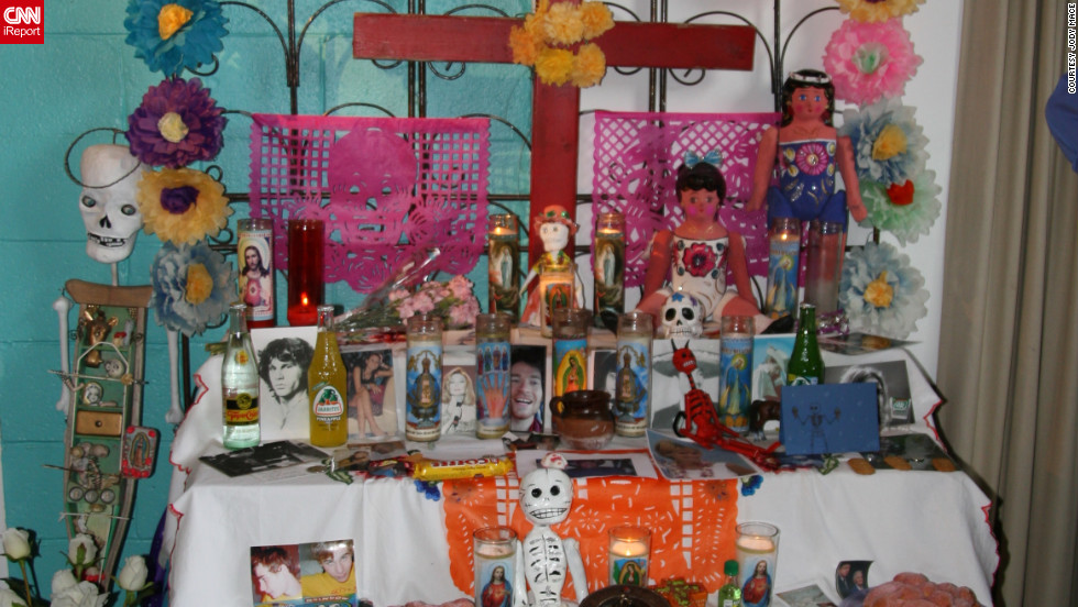 "Jody Mace, who runs the website <a href=""http://www.charlotteonthecheap.com/"" target=""_blank"">Charlotte on the Cheap</a>, enjoys taking in the ""unique, weird and fun side of the Queen City."" Here, she finds a Day of the Dead altar at <a href=""http://www.puravidaart.com/"" target=""_blank"">Pura Vida Worldly Art</a> in the artsy NoDa neighborhood."