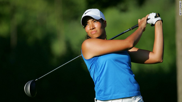 Cheyenne Woods is aiming to follow in the footsteps of her uncle Tiger and dominate the world of golf