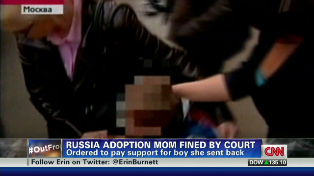 Russia adoption mom fined by court