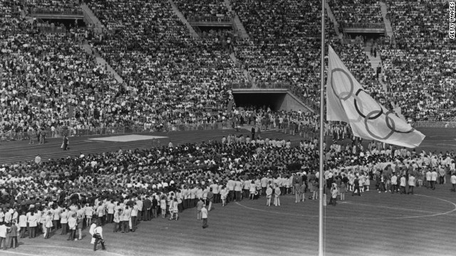 israel and munich olympic games Munich, germany (reuters) - victims of the attack on the israeli team at the  1972 olympic games were remembered by germany and israel.
