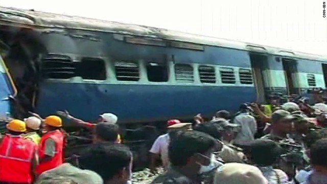 Dozens dead in India train crash