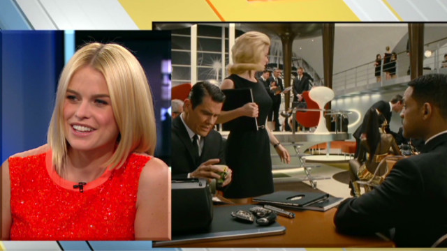 Alice Eve discusses 'Men In Black 3'