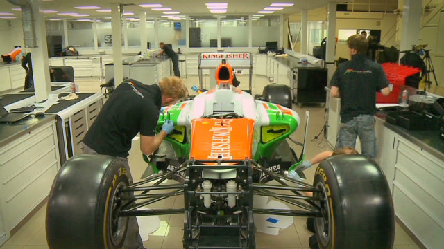 Force India travel to Monaco