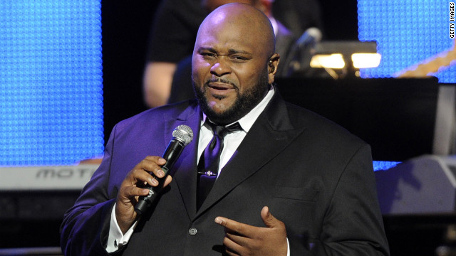 Ruben Studdard performed at the 43rd Annual GMA Dove Awards at The Fox Theatre in 2012 in Atlanta, Georgia.