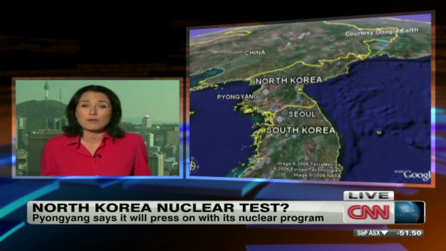North Korea preparing for another nuke test?