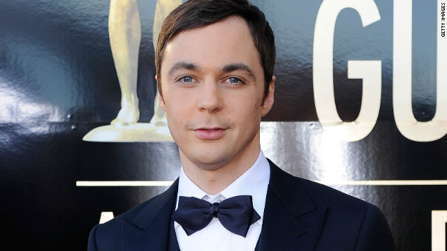 Actor Jim Parsons arrives at the 18th Annual Screen Actors Guild Awards at The Shrine Auditorium on January 29, 2012 in Los Angeles, California