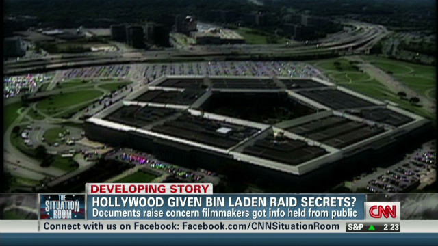Filmmakers' access to bin Laden info