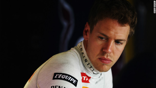 Red Bull's Sebastian Vettel is the youngest double world champion in Formula One history.
