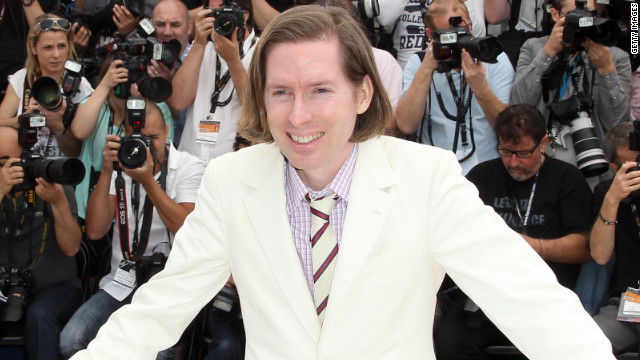 "Wes Anderson presented his new film, ""Moonrise Kingdom,"" at the Cannes Film Festival."