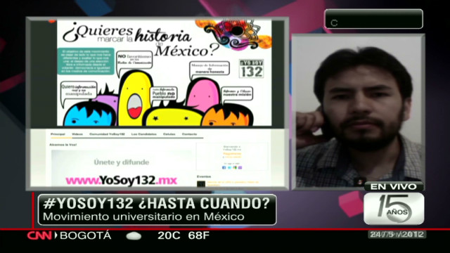 #yosoy132 ¿Hasta cuándo?
