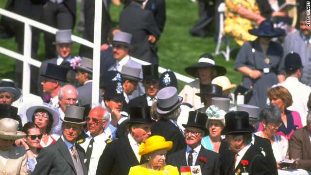 A right royal day at the races