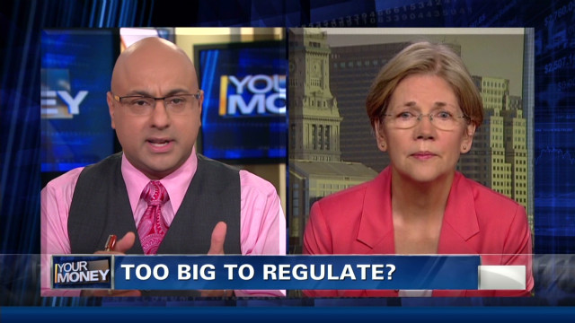 Warren: U.S. banks still at risk