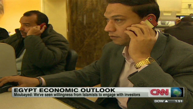 Investors eye Egypt election