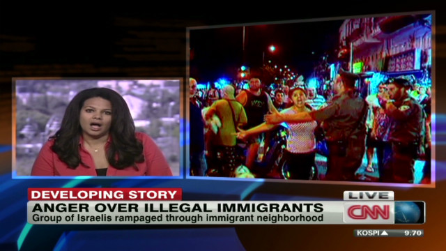 Anger over illegal immigrants in Israel