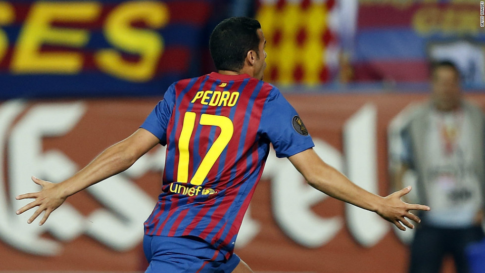 Pedro Rodriguez sealed Barcelona's Copa del Rey triumph with two first half goals against Athletic Bilboa.