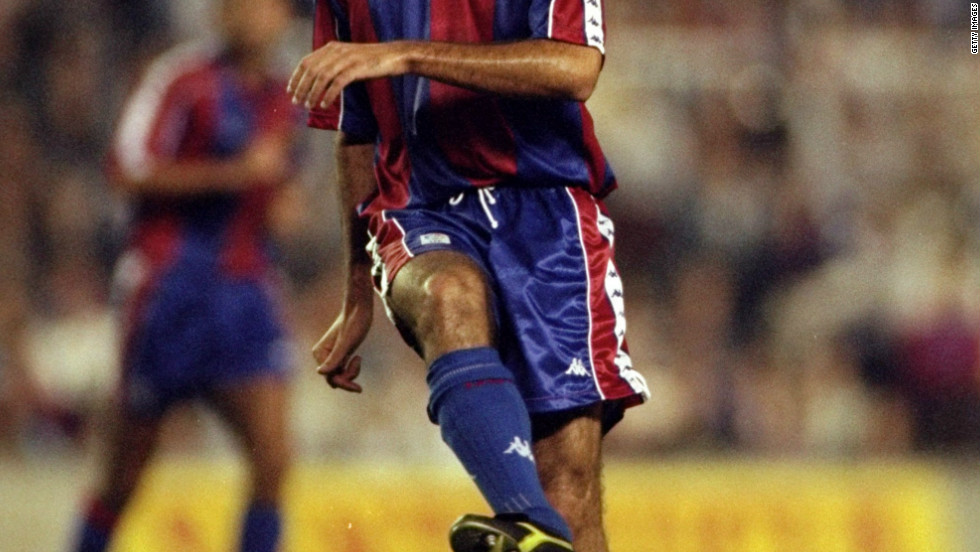 Guardiola is inextricably linked with Barcelona. He was born in Catalonia, and joined Barca's academy in 1984, winning six Spanish league titles and one European Cup before leaving for Italy in 2001.