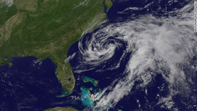East Coast keeps close eye on Beryl