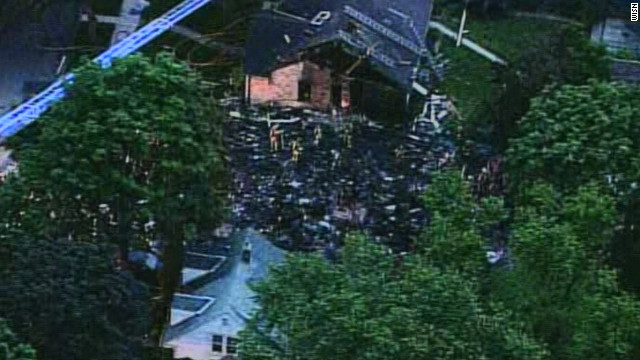 Witnesses describe fiery house explosion