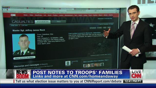Every fallen troop remembered online