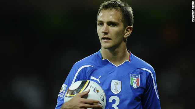Italy defender Domenico Criscito was spoken to by Italian police in their investigation into match fixing