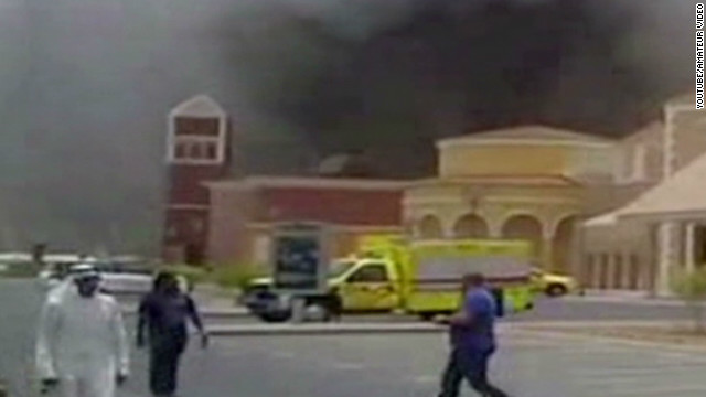 Deadly fire sweeps through Qatar mall