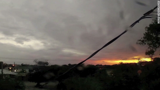 Timelapse of Beryl blowing through Daytona Beach