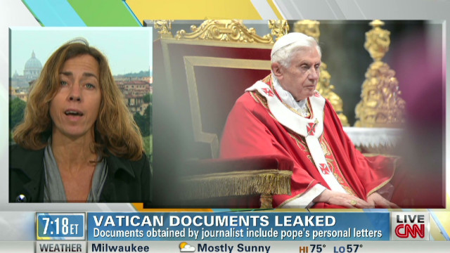 Document leak engulfs Vatican