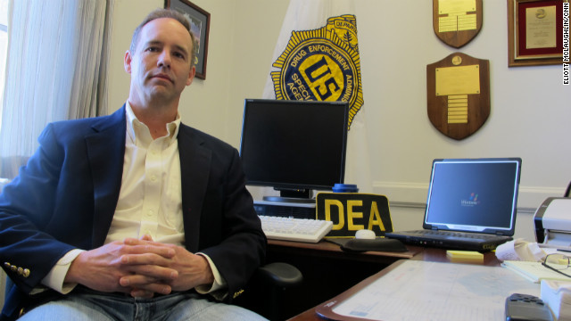 Wilmington DEA resident agent in charge Michael Franklin says he's increasingly seeing cartel-linked cases.