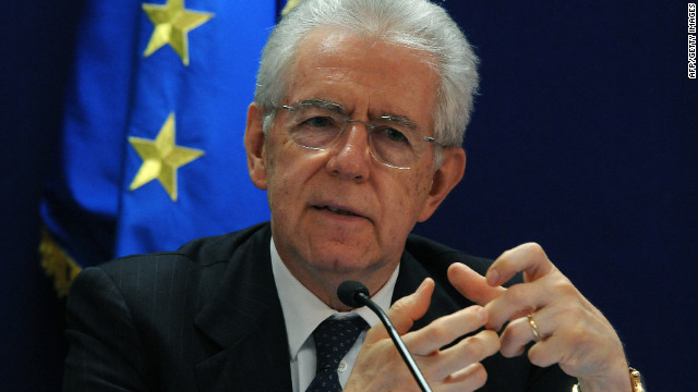 Italian Prime Minister Mario Monti has said he will stand down once next year's budget is passed.