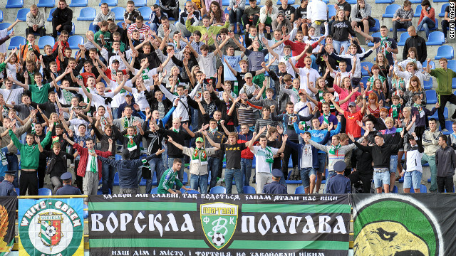The spotlight is on Ukrainian and Polish fans after a BBC investigation alleged racism was prevalent in the stands