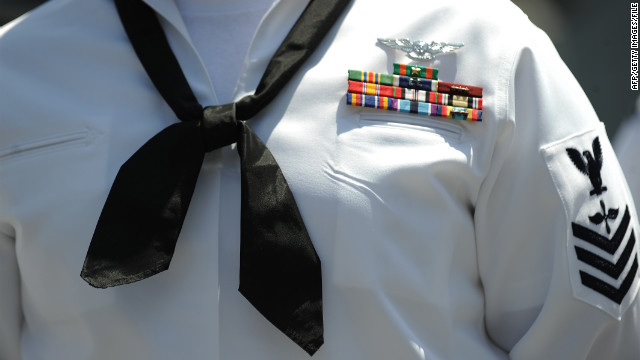 Uniform alluring for 'military groupies'