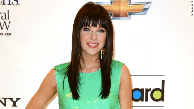 Carly Rae Jepsen attends the 2012 Billboard Music Awards in May.