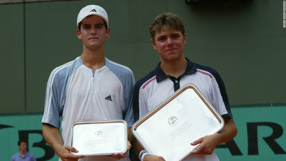 It was not his first appearance at Roland Garros. In 2003, Baker reached the final of the boys' tournament before losing to Switzerland's Stanislaw Wawrinka, having beaten current senior stars Jo-Wilfried Tsonga and Marcos Baghdatis.