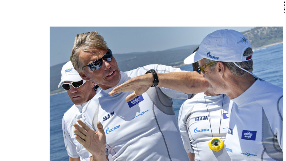 Jochen Schümann, the two-time America's Cup winner and three-time German Olympic champion, has been at the helm of the boat since 2010.