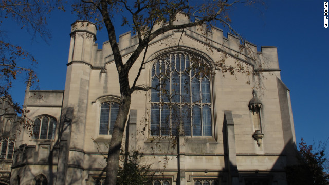 A view of McCosh Hall, built in 1906, on the Princeton University campus in New Jersey. William Bennett says many Chinese want their children to attend U.S. universities.