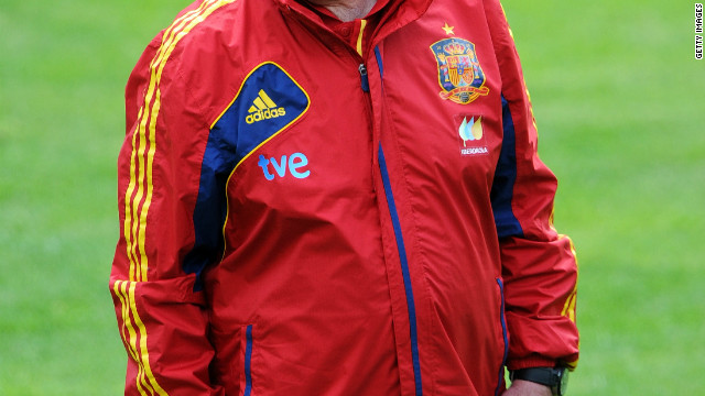 Head coach: Vicente del Bosque