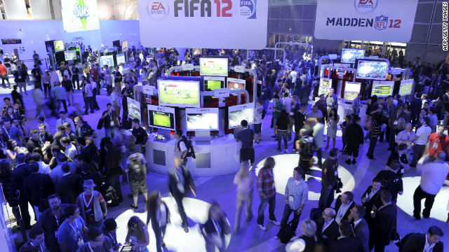 The show floor of E3, the year's biggest video game show, always buzzes with new games and gaming systems.