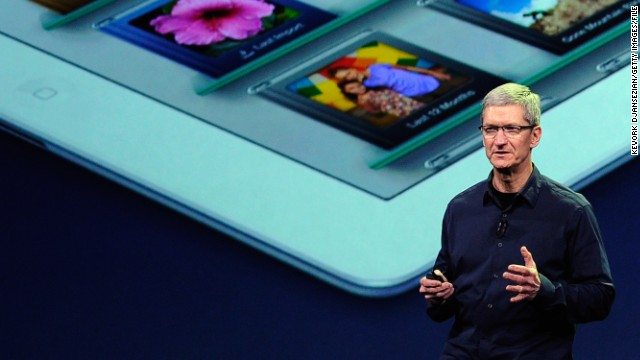 CEO Tim Cook is typically tight-lipped about Apple's future plans, so observers parse his words for clues.