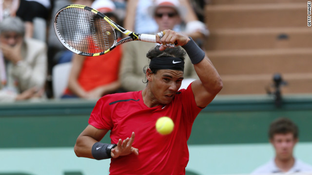Spanish world No. 2 Rafael Nadal is looking for a record seventh title at Roland Garros.