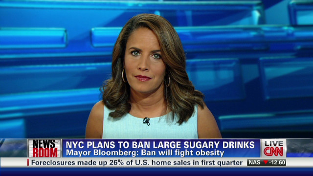 NYC plans to ban large sugary drinks