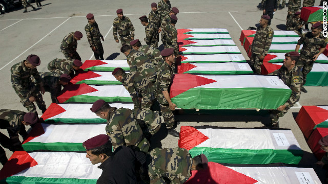 Israel returns Palestinian remains