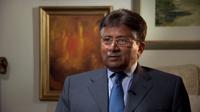 Musharraf: 'I will go back'